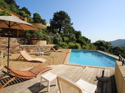 Photo for Beautiful Villa with pool for 8 people Le Rayol