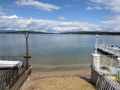Photo for Weirs Beach 2 Bedroom Cottage Steps Away from Lake & Beach!