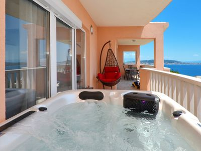 Photo for Apartment SUN - with Jacuzzi and sea wiev