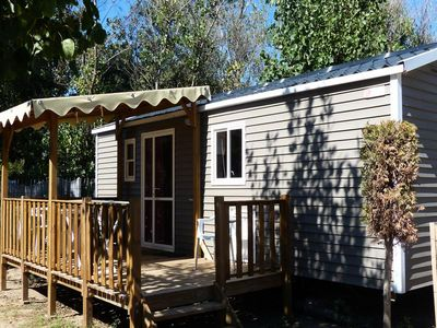 Photo for Camping Dunes and Sun **** - Mobile Home 3-Room Villa 4/6 People