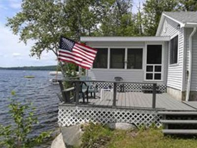 Photo for Great Maine Getaway House on the Lake