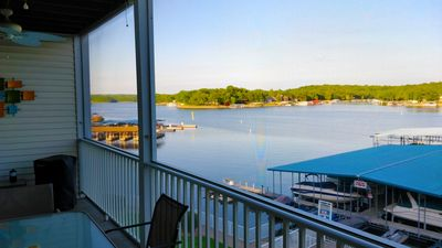 Photo for Spacious well kept condo w/ Huge deck, big view, and nice pool.