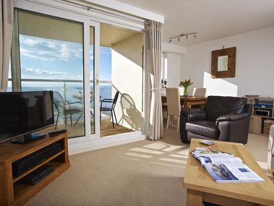 Photo for SEASPRAY (THURLESTONE SANDS), with pool in Thurlestone, Ref 994966