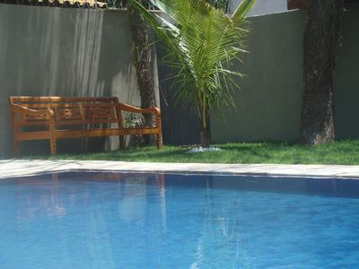 Photo for NEW HOUSE, LINDA, 4 SUITES, WONDERFUL SWIMMING POOL, 450m FROM THE BEACH