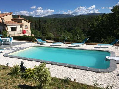 Photo for In the Var in Tourettes, villa with heated pool, pets allowed
