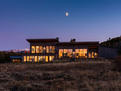 Photo for Luxury home in Jackson Hole.  Grand Teton and Sleeping Indian Views.