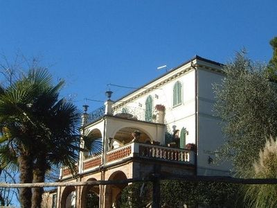 Photo for Beautiful apartment for 4, in epoque villa, with park, swimming pool, in Sabin
