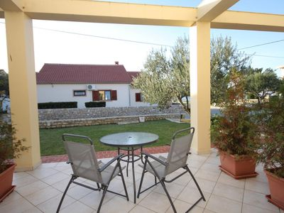 Photo for Studio flat with terrace and sea view Nin (Zadar)