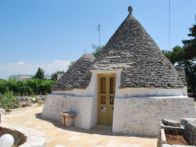"Photo for Holiday Apartment - Trulli on site - ""La Capanna"""