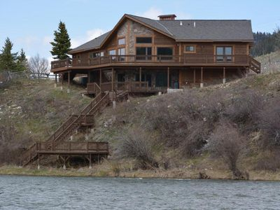Madison River Front  Home