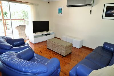 Air conditioned, open plan living area