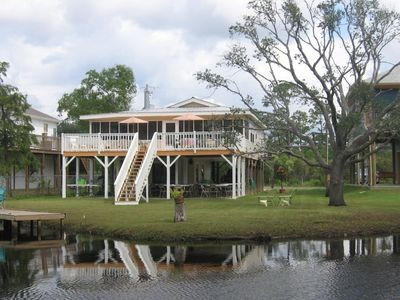Photo for Cottage Charm - Peaceful Setting - Beautiful Bayou View & Retreat!