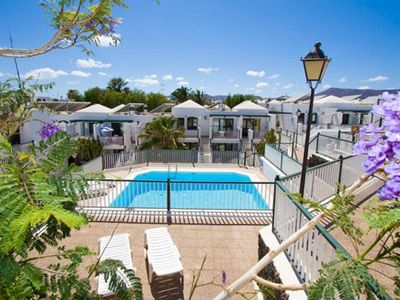 Photo for Holiday Apartment Lanzarote Suites with Wi-Fi, Terrace & Shared Pool; Parking Available