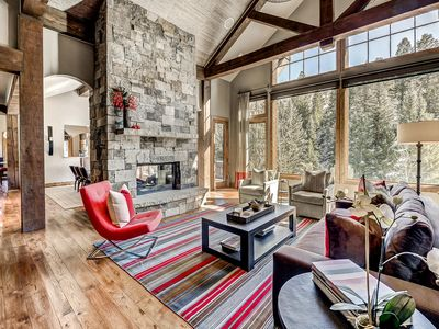 Photo for Luxury 7 Bedroom Arrowhead Estate with Theater Room and Ski Cabin Access