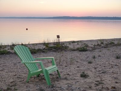 Photo for Beach Front, Excellent Swimming, Walkable Neighborhood, Close to Traverse City