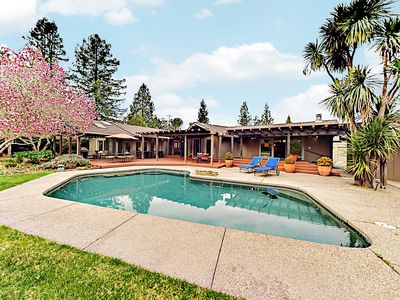 Photo for Luxurious Home w/ Fireplace, Pool & Piano - Near Best Wineries