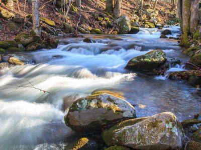 Photo for On Rushing Creek- Wifi - Cable - $99 - $135.Per Night-Mortorcycles Welcome