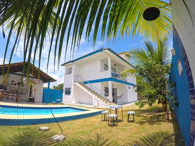 Photo for House with 4 bedrooms, 2 bathrooms, pool and barbecue in Praia de Mundaí