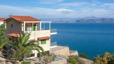 Photo for Seaside maisonette in Kiveri, near Nafplion.