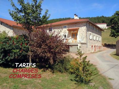 Photo for Gite Chirassimont, 6 bedrooms, 14 persons