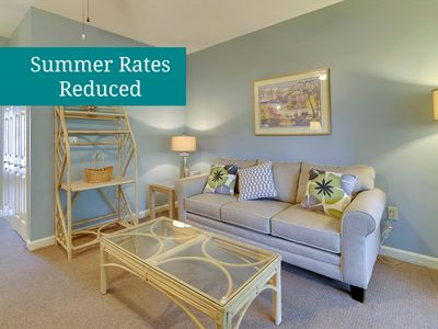 Photo for Lovely Greens Townhome - Flat-Screen TVs & Screened Porch - Short Walk to Pools!