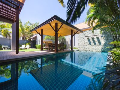 Photo for POOL VILLA HANGA 3BR NAIHARN BEACH