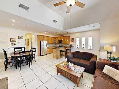 Photo for New Listing! Remodeled Condo w/ Pool in the Heart of SPI - Walk to the Beach