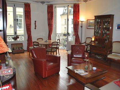 Photo for Paris 1st, our own 3 rooms of charm in the heart of Paris, station Chatelet.