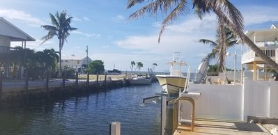 Photo for Ocean Side Canal Half Duplex, 37' Dock, 600' To Channel