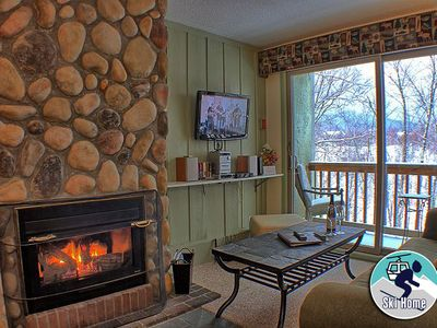 Photo for Ski home to this cozy condo w/ shuttle to slopes