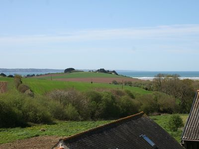 Photo for Farmhouse overlooking the bay of Douarnenez