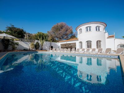 Photo for Calpe Villa, Sleeps 24 with Pool and WiFi