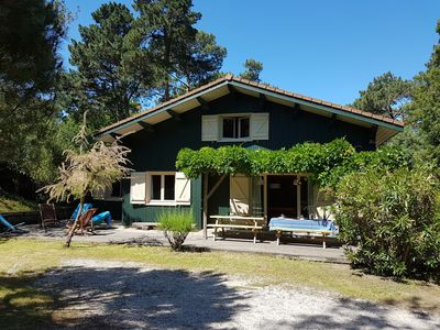 Photo for Cap Ferret charming villa, quiet, 50m from the Bassin, ideal location