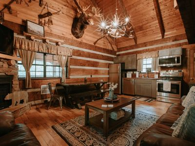 Photo for NEW & RECENTLY RENOVATED! Cozy & Secluded Cabin with a PRIME location!