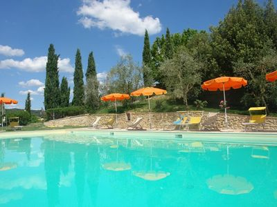 Photo for Three Bedroom First Floor Apartment Poggibonsi   Tresor GG is on a working farm situated in a lovely