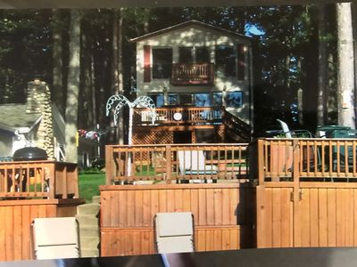 Clear Lake  Resort - Two Story Lake Front Private Home featuring 2 bedrooms,