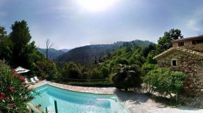 Photo for FURNISHED 4 STAR TOURISM - VILLA / MAS CEVENOL: SWIMMING POOL - PANORAMIC VIEW