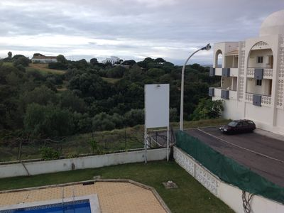 Photo for Apartment in Algarve, 2 BR, nice view, not far from beach and old town, pool