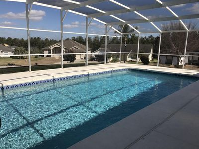 luxury florida villa near Championsgate with large pool 10 mins from Disney