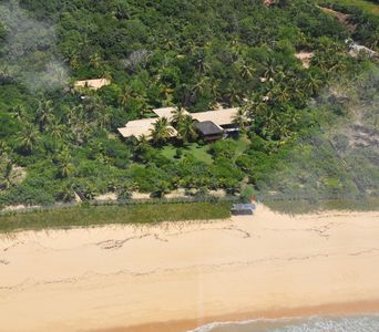Photo for Charming villa beach front with 12.500sq,mts.garden 5 suites 2 bedrooms