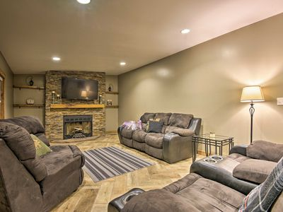 Photo for NEW! Spacious Kunkletown Home w/ Full Game Room!