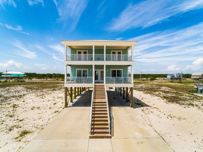 Photo for Dixieland Delight - Brand new 4 br / 3 ba Gulf View Home with Private Pool & Easy Beach Access