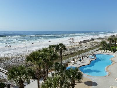 Photo for RELAX & ENJOY SUNSETS FROM LARGE BALCONY; FULLY UPGRADED, INCLUDES BEACH CHAIRS