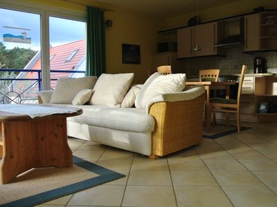 Photo for Spacious apartment in the house on the dune only 50m to the fine sandy Baltic Sea beach