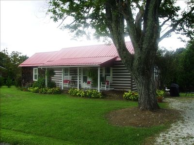 Photo for Alderman-Worrell Cabin, Enjoy Charming Newly Restored Cabin