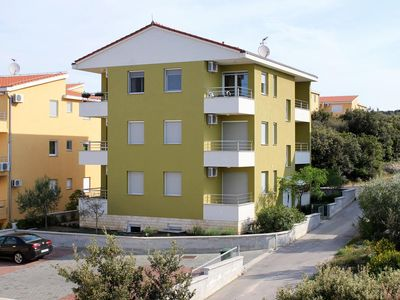 Photo for One bedroom apartment with terrace and sea view Kožino, Zadar (A-5755-b)
