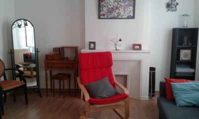 Photo for Charming three rooms in a very lively neighborhood