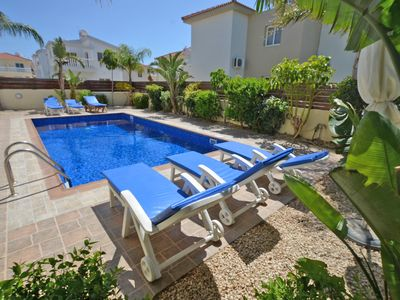 Photo for VILLA FAVOR- 3 BED PRIVATE POOL AYIA NAPA