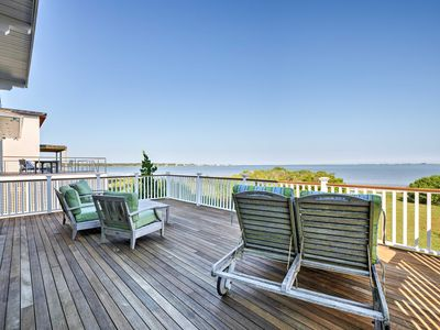 Photo for Luxe East Quogue Waterfront Home - Steps to Beach!