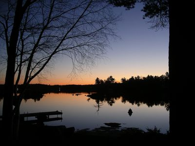 Photo for Home on Big Bald Lake in Cottage Country - sleeps 10 or more